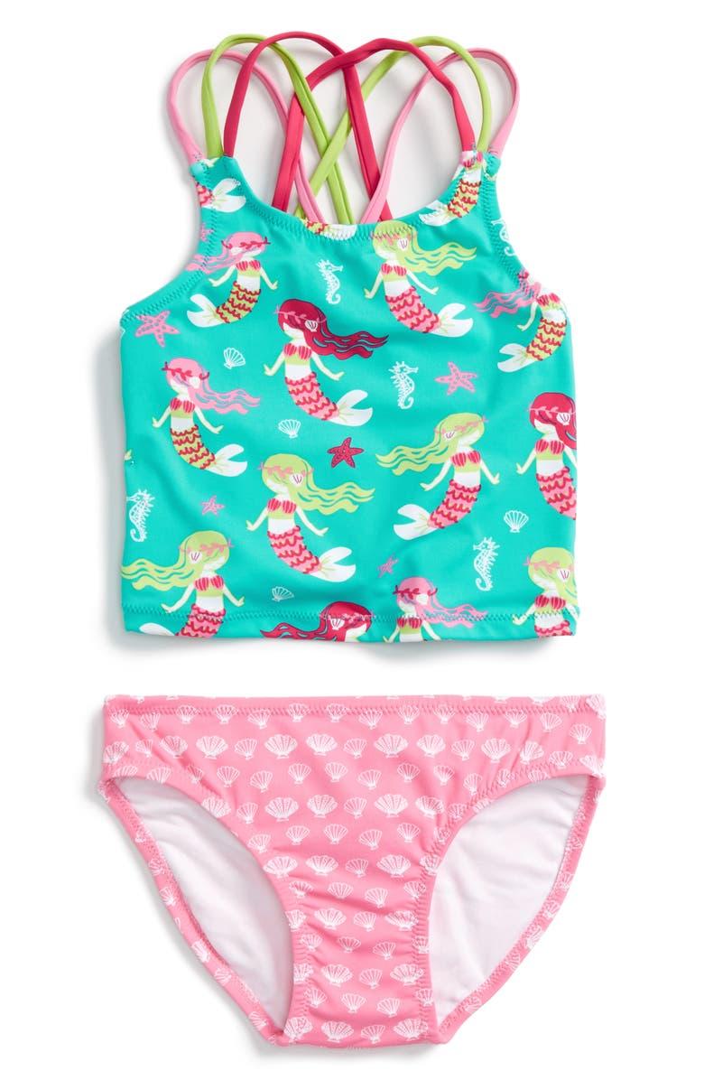 864d1ef49c05b Hatley Sweet Mermaid Two-Piece Swimsuit (Toddler Girls, Little Girls ...