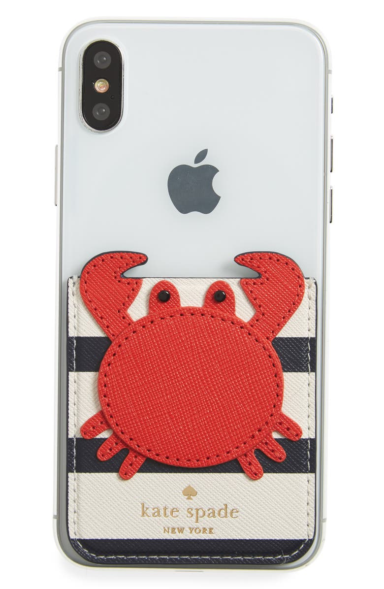 separation shoes cffd8 6cc83 crab iPhone 7/8/X sticker pocket