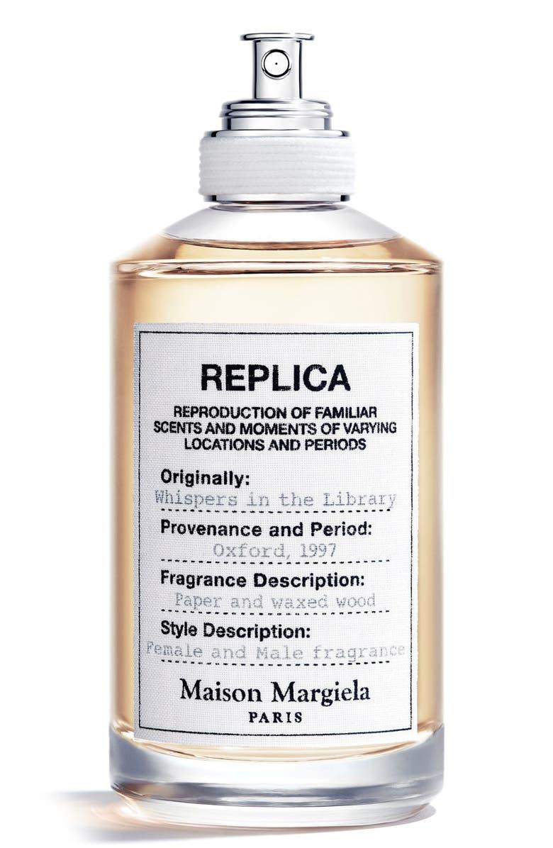 MAISON MARGIELA Replica Whispers in the Library Eau de Toilette, Main, color, NO COLOR