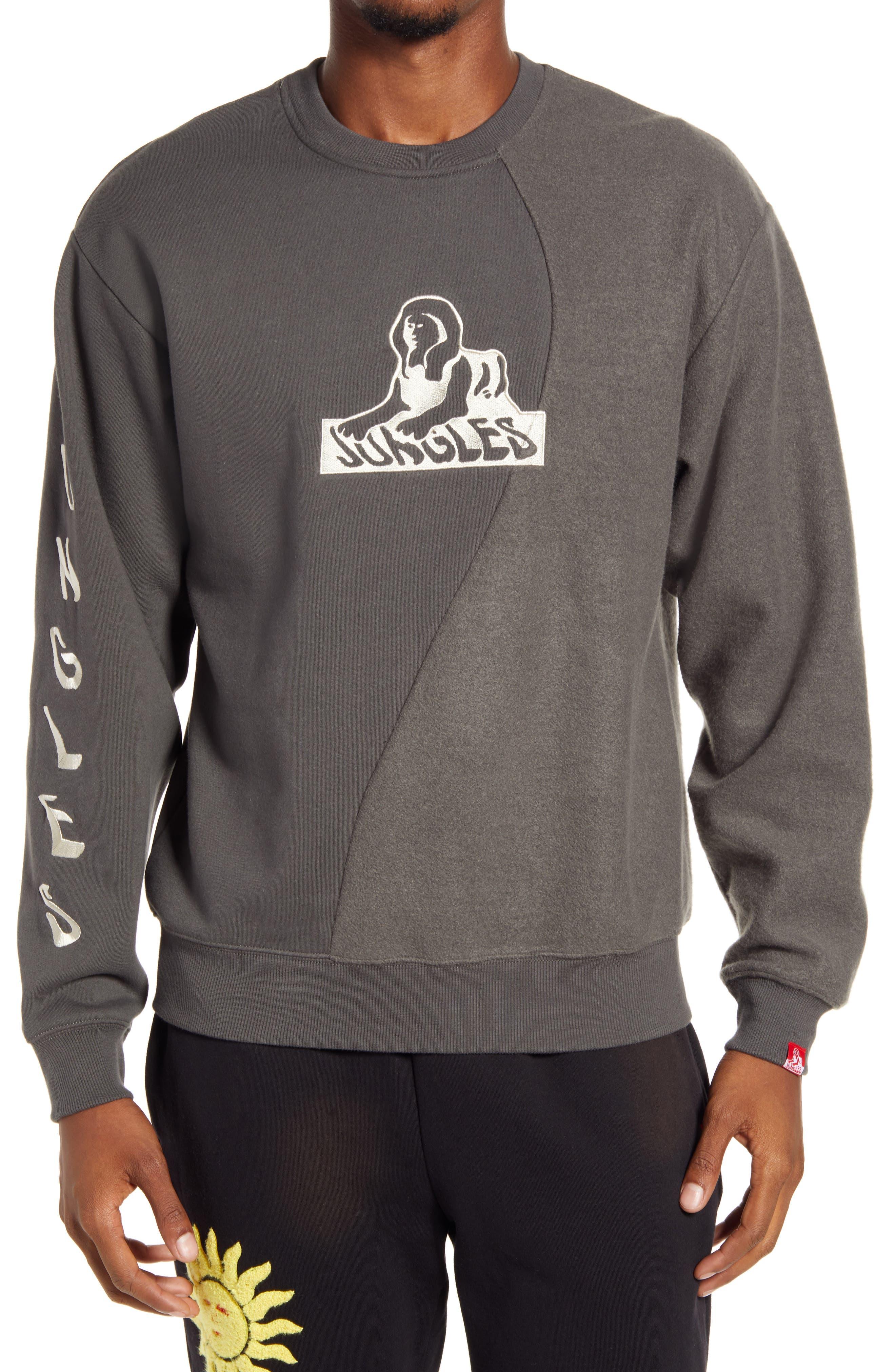 Men's Ying Yang Logo Crewneck Sweatshirt