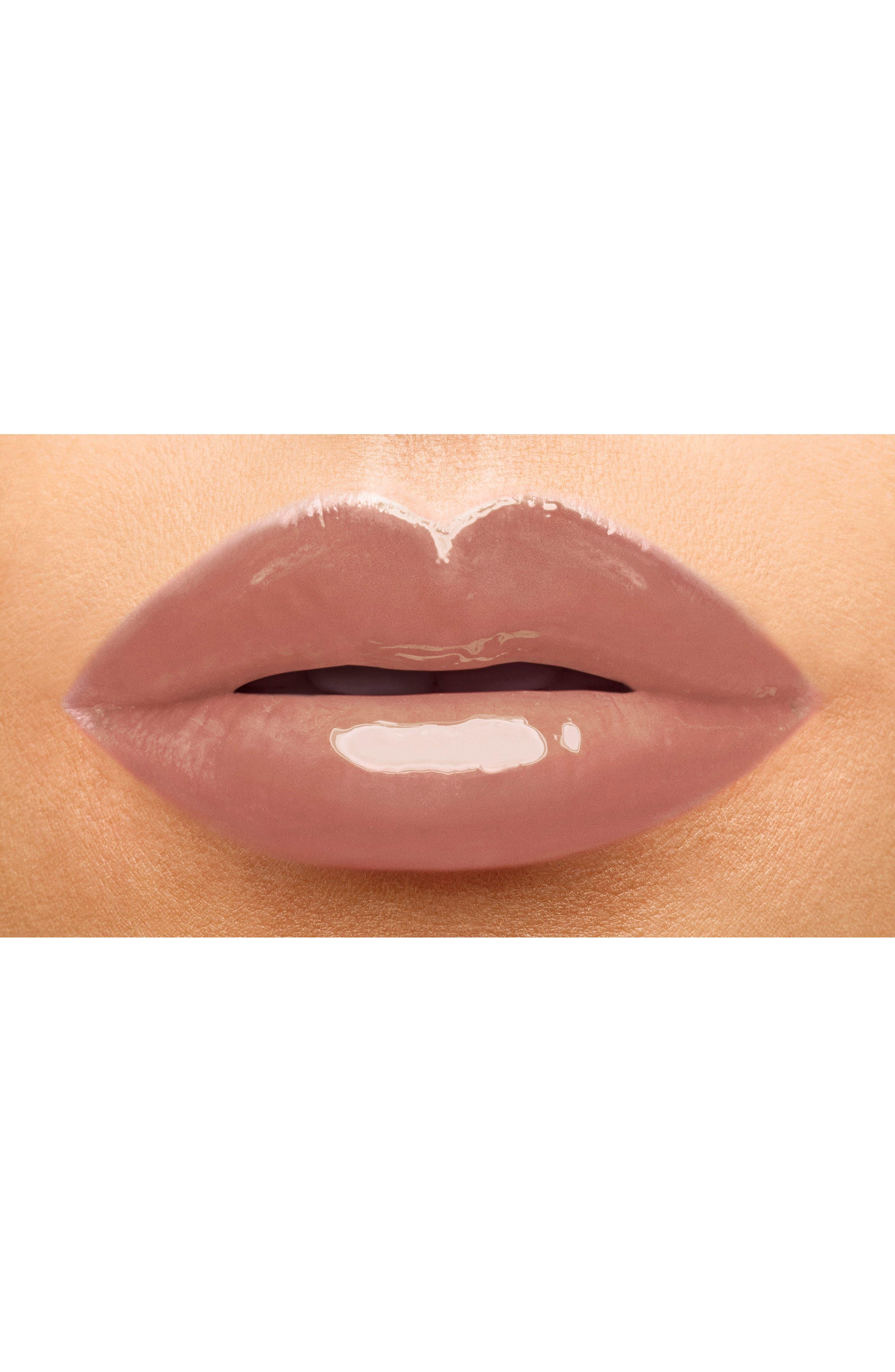 ,                             Vinyl Cream Lip Stain,                             Alternate thumbnail 3, color,                             417 BEIGE BOUNCE