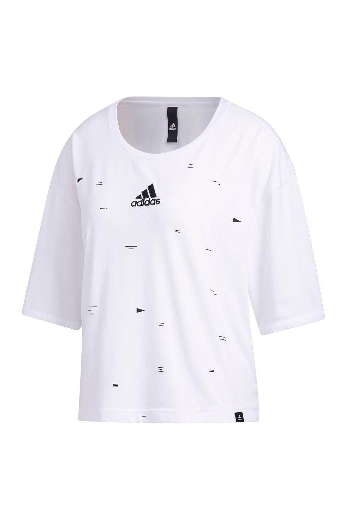Image of adidas Graphic Geo Print T-Shirt