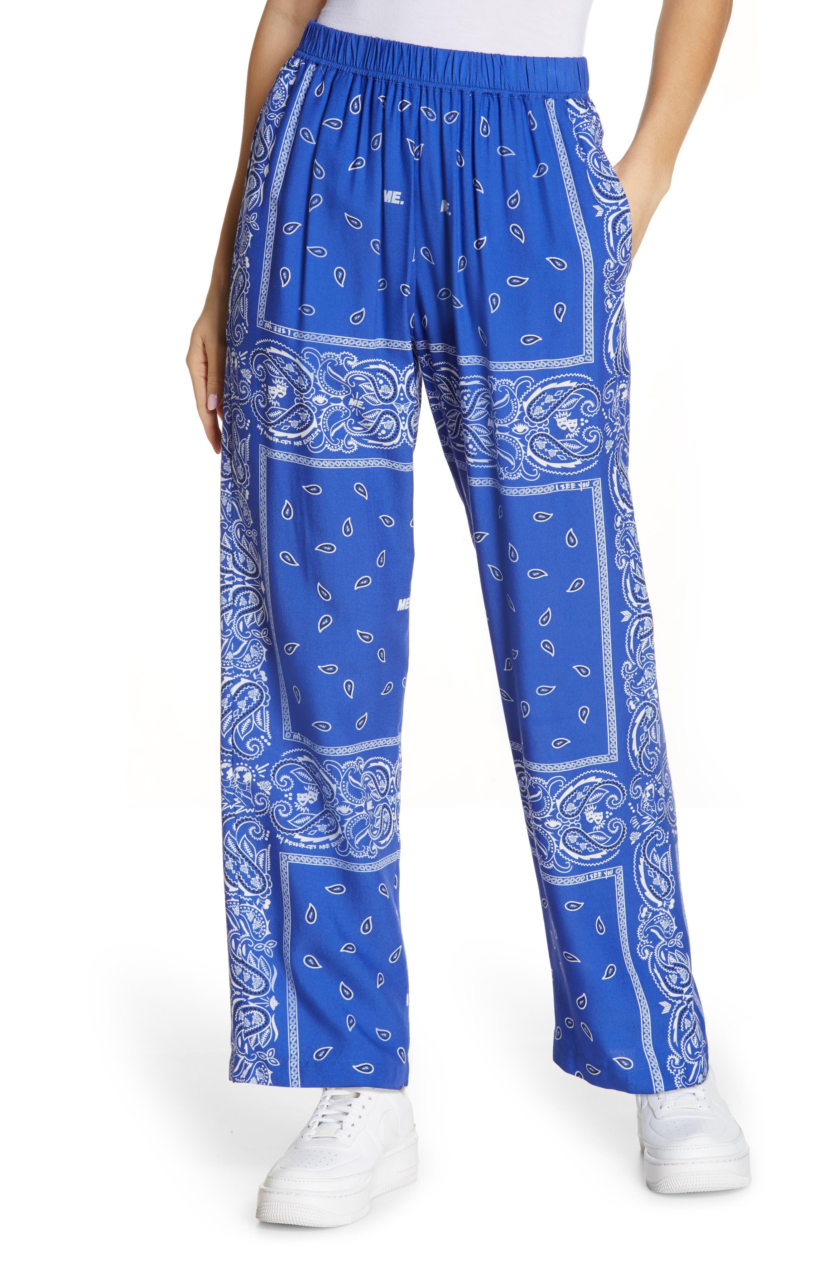 Staycation Bandana Print Pants