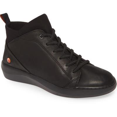 Softinos By Fly London Biel Sneaker, Black