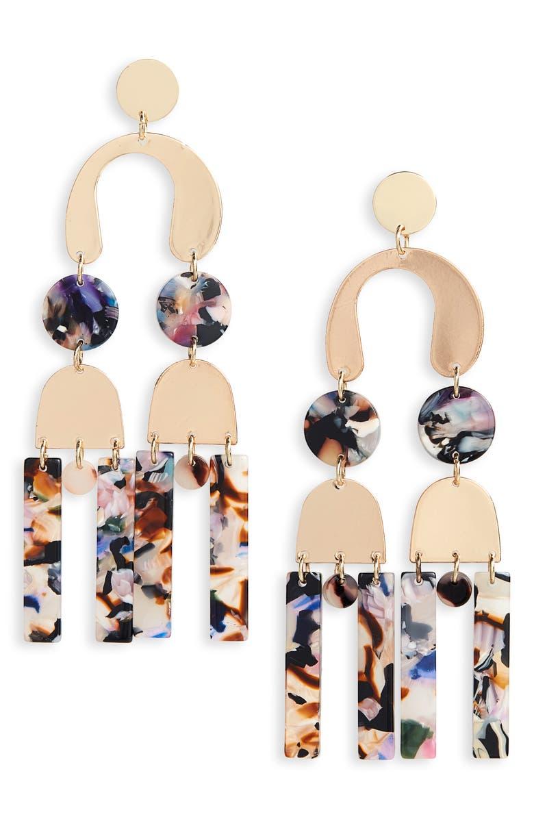 NFC New Friends Colony Joan Earrings, Main, color, 710