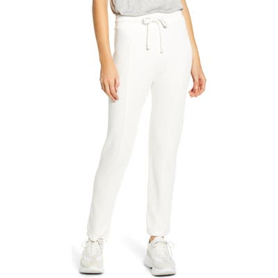 Wildfox Kara Drawstring Sweatpants, Ivory