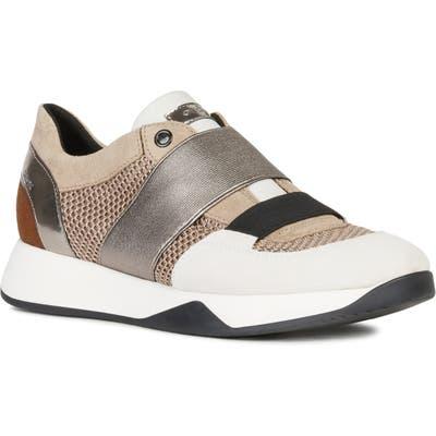 Geox Suzzie Slip-On Sneaker, Beige