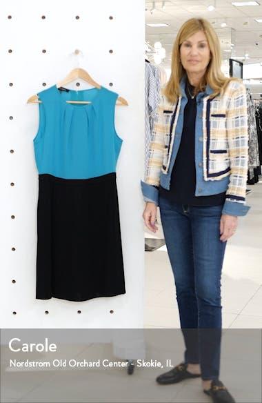 Colorblock Sleeveless Dress, sales video thumbnail