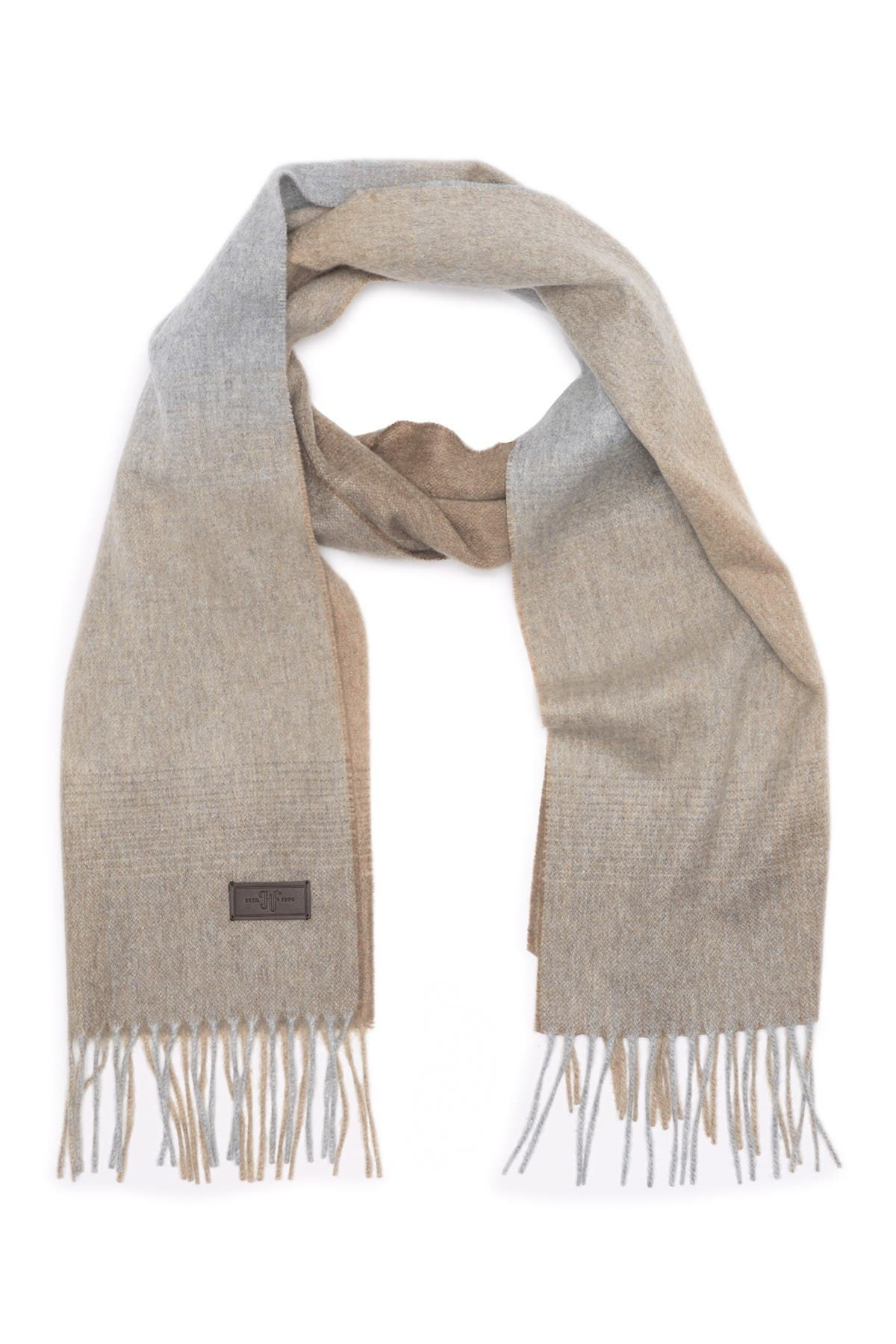Image of Hickey Freeman Cashmere Ombre Scarf