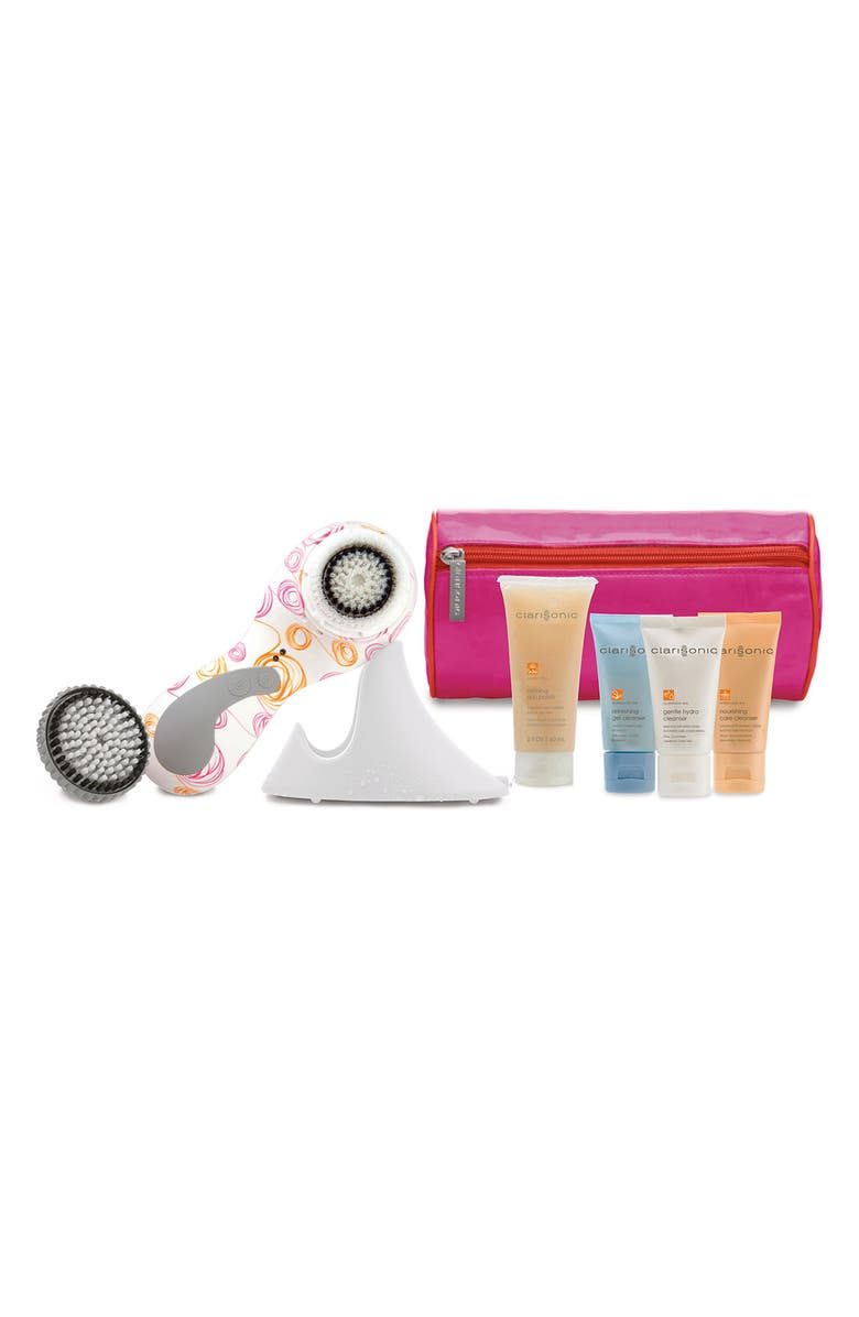 CLARISONIC <sup>®</sup> 'Whirlwind PLUS' Sonic Skin Cleansing Set Face & Body, Main, color, 000