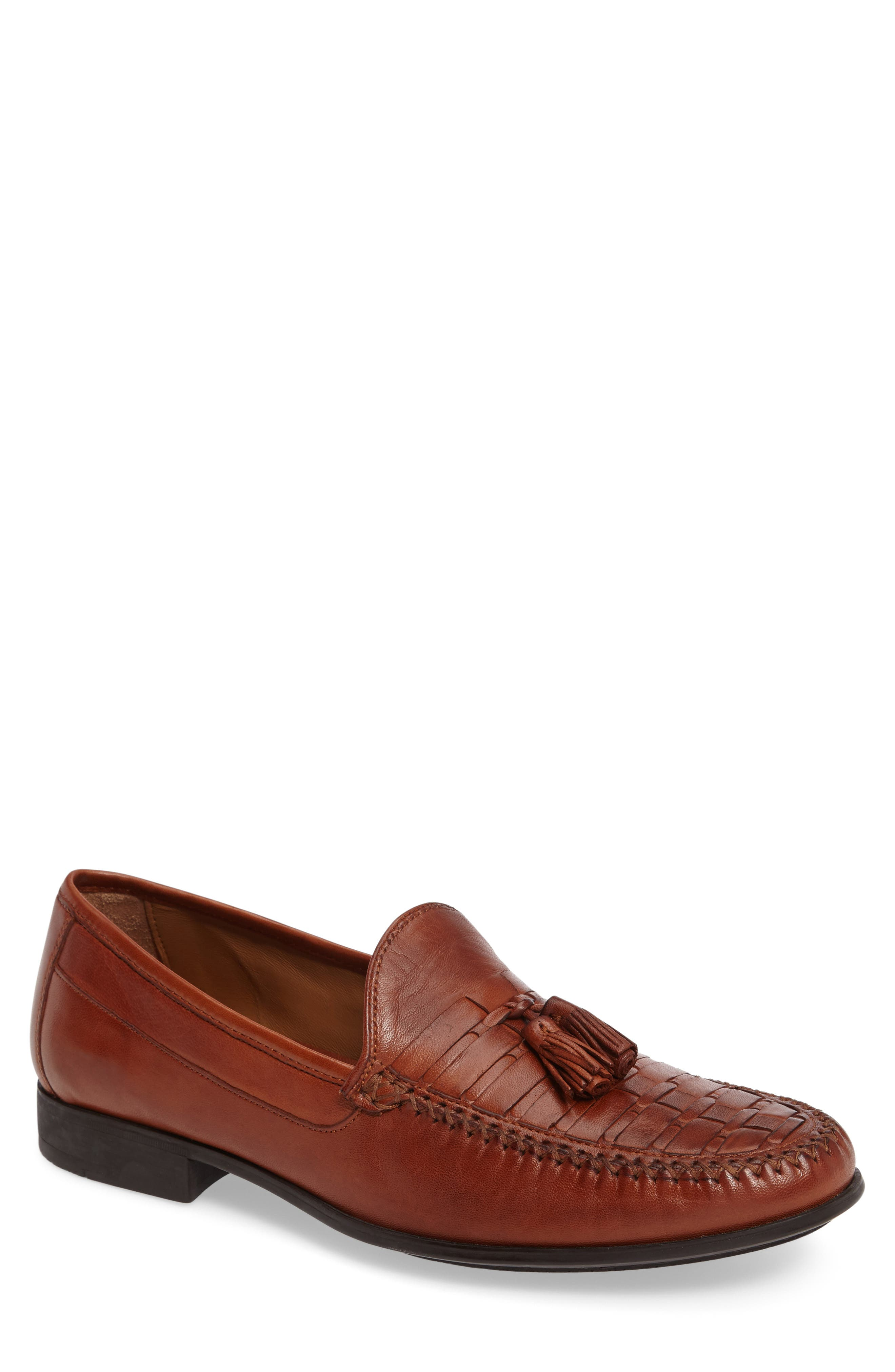 Johnston & Murphy Cresswell Woven Tassel Loafer