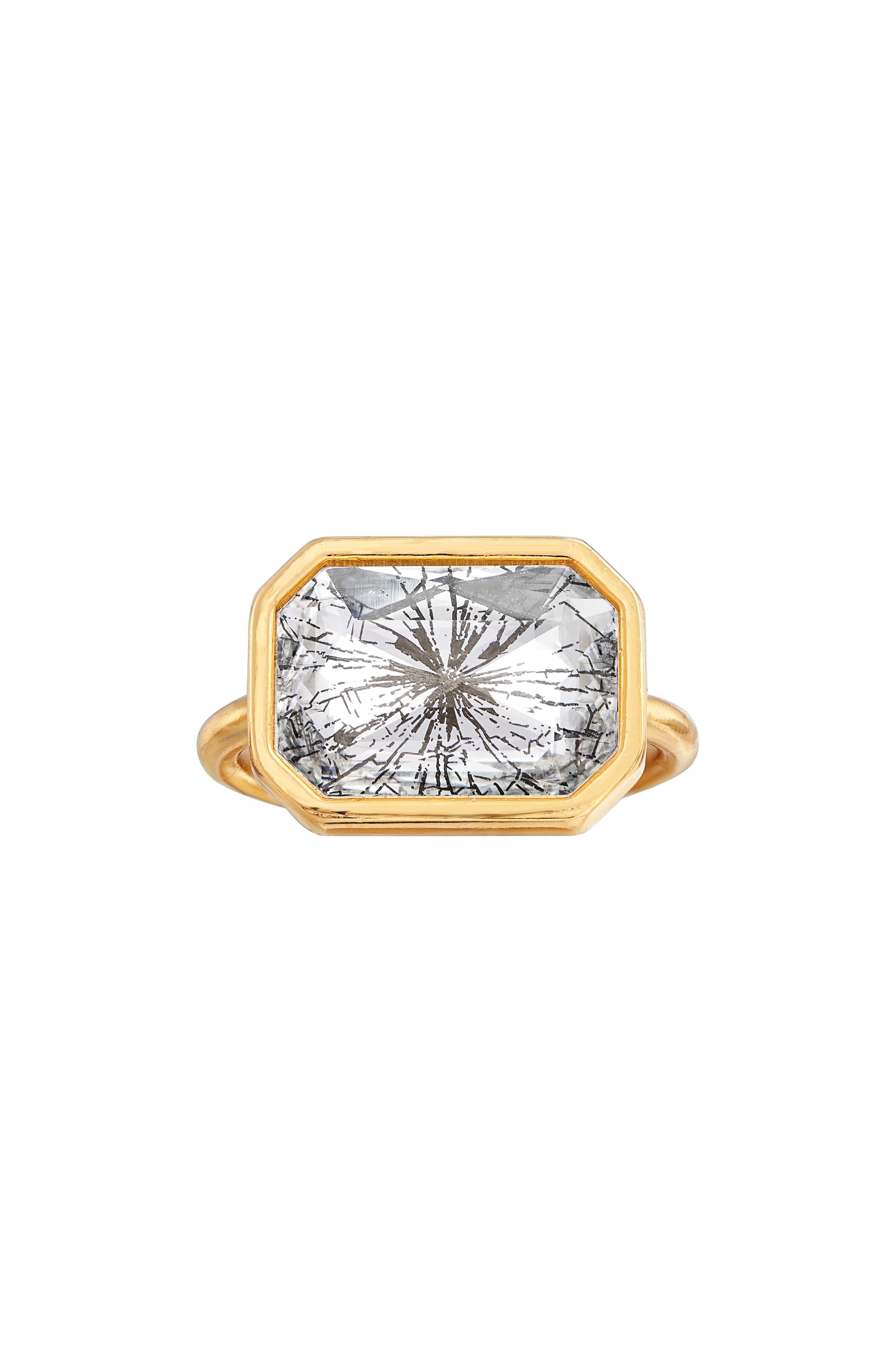 Luca + Danni Glass Ceiling Ring