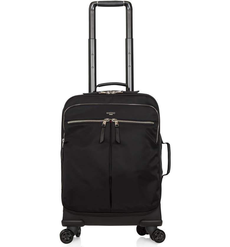 KNOMO LONDON Mayfair Parkland Wheeled Carry-On, Main, color, 001