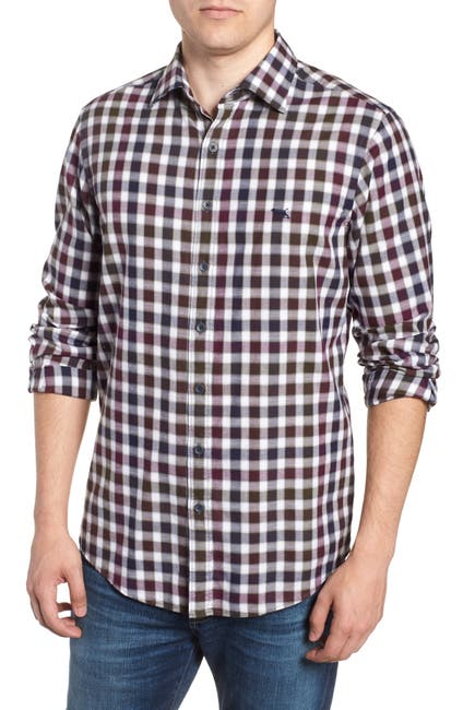 Image of RODD AND GUNN Harvest Ave Regular Fit Flannel Sport Shirt