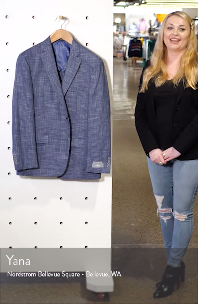 New York Check Soft Sport Coat, sales video thumbnail