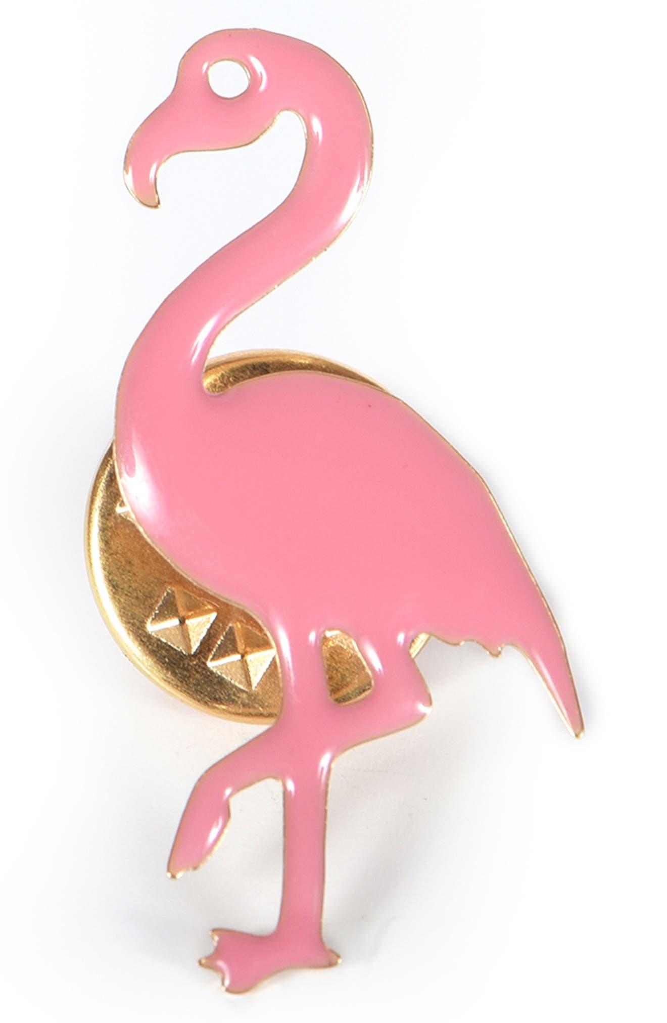 Girls Titlee Clive Flamingo Enamel Pin