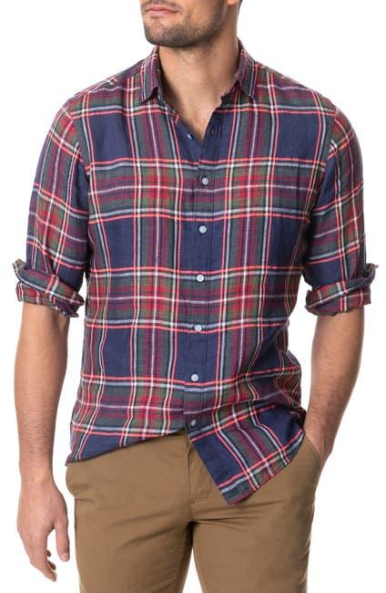 Image of RODD AND GUNN Fairlight Regular Fit Long Sleeve Shirt