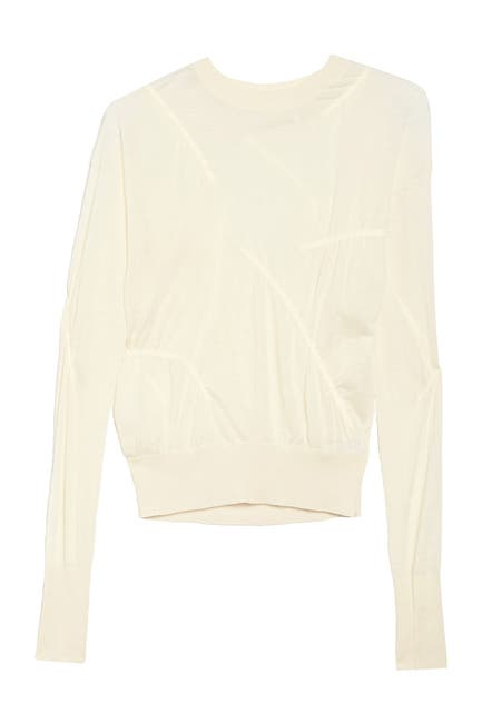 Image of Helmut Lang Cashmere Crew Neck Sweater