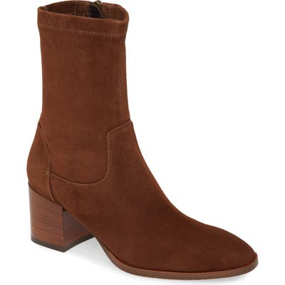 Aquatalia Tilly Weatherproof Bootie, Brown