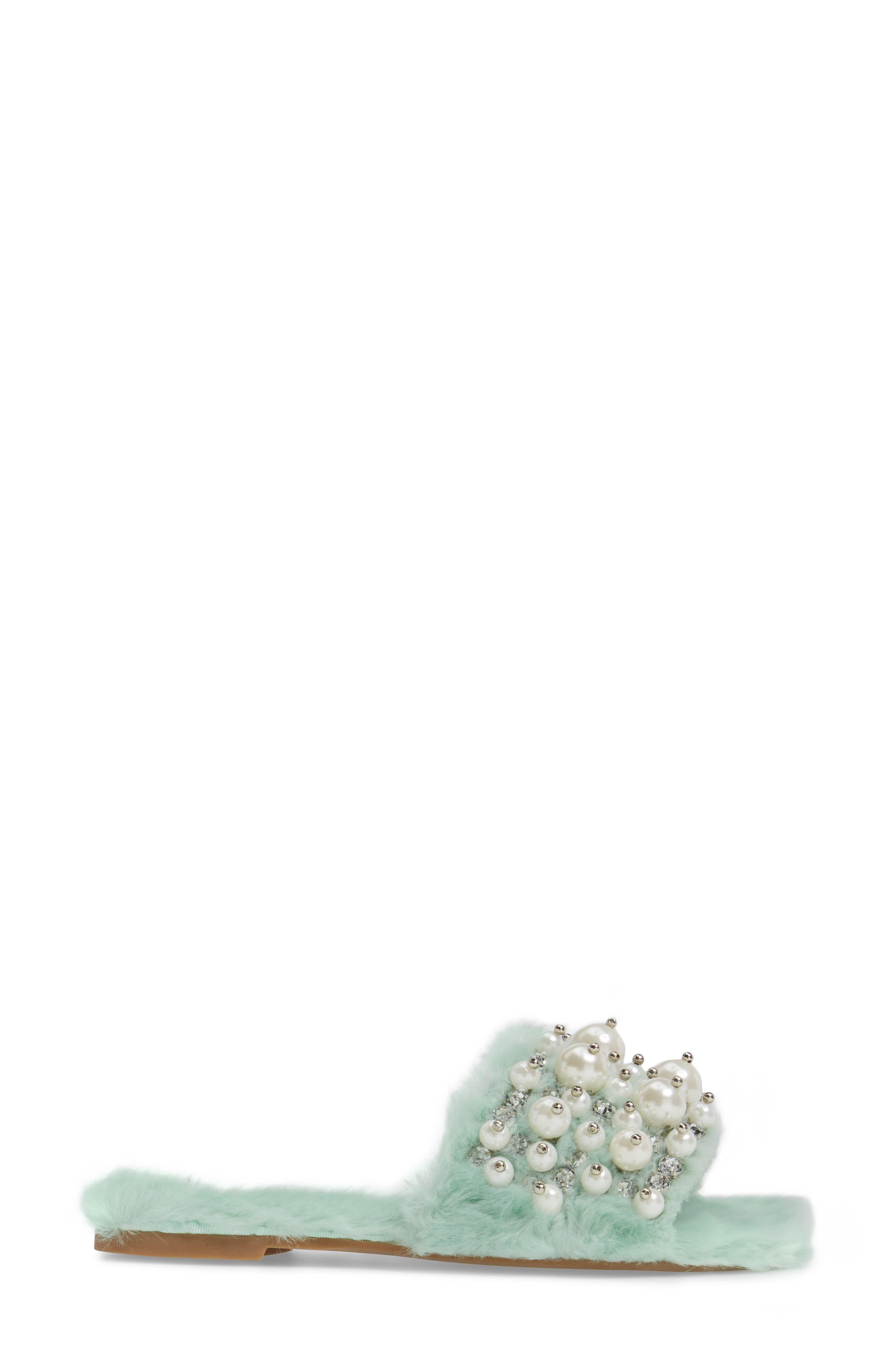 ,                             Facil Embellished Slide Sandal,                             Alternate thumbnail 15, color,                             337