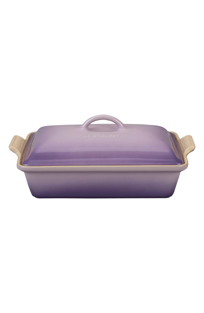 LE CREUSET 4-Quart Heritage Rectangular Covered Baking Dish, Main, color, 500