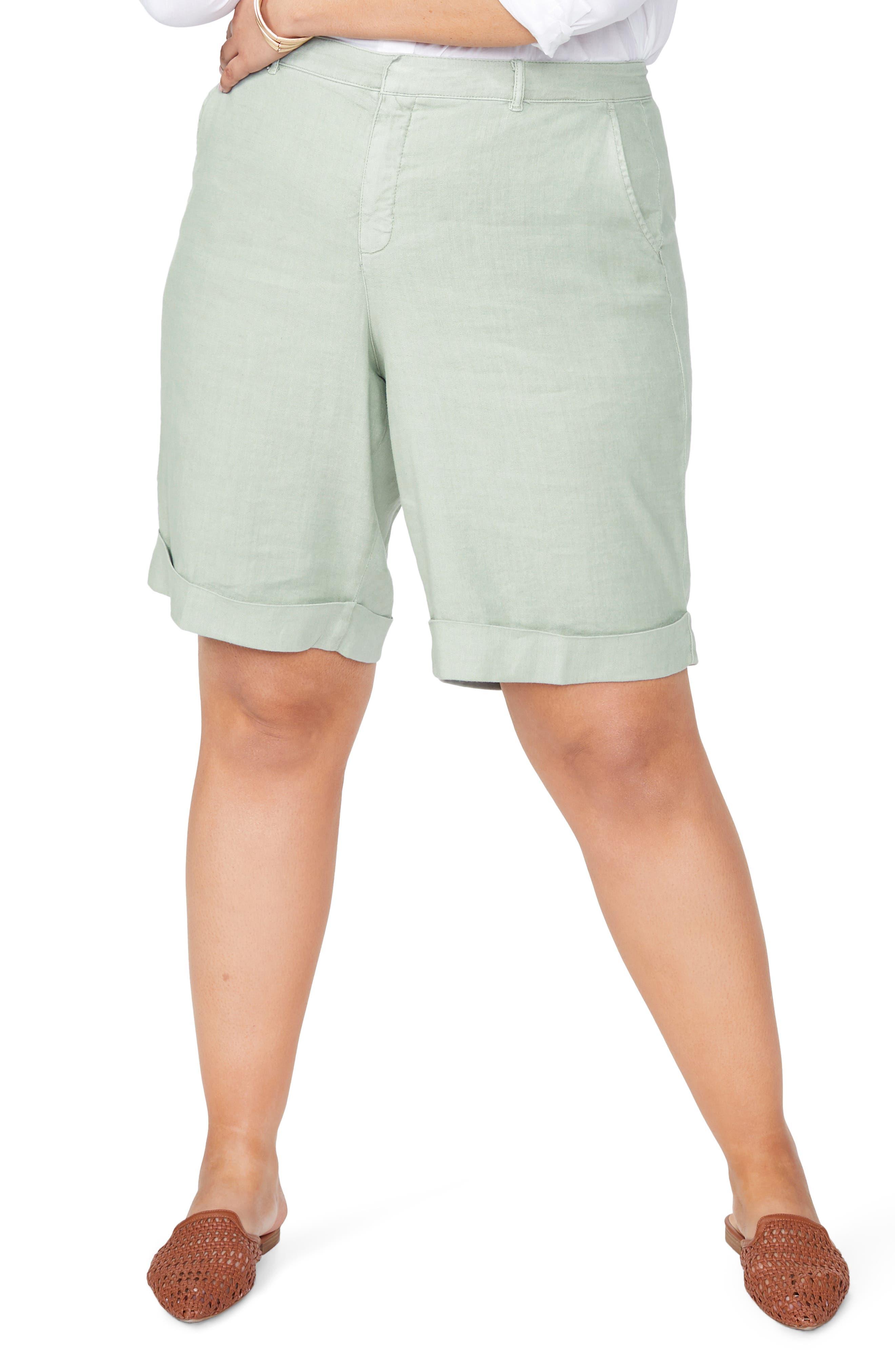 NYDJ Womens Petite Size Bermuda Short