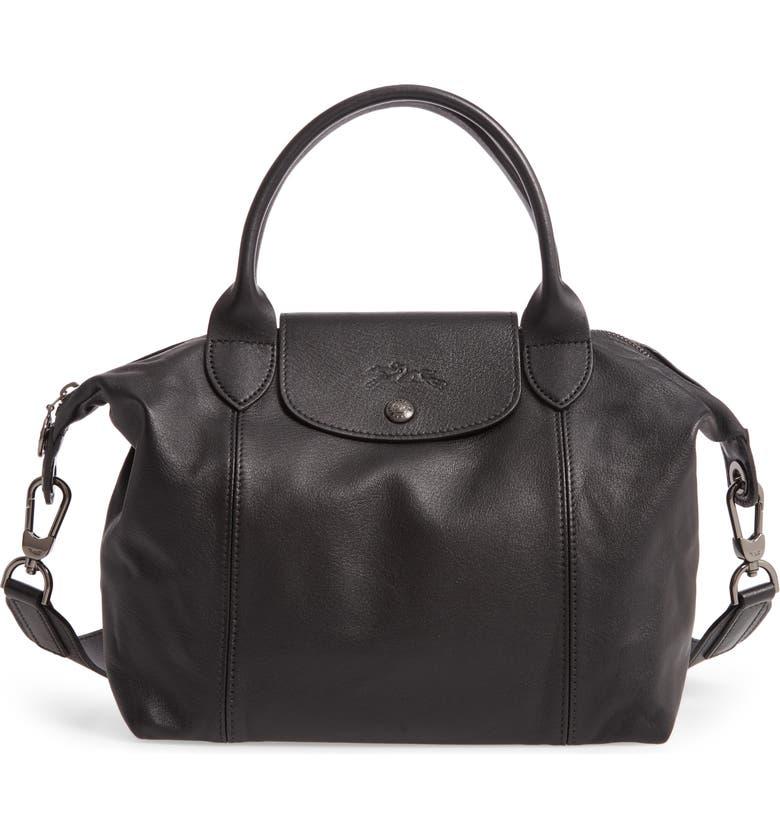 Longchamp Le Pliage Cuir Leather Shoulder Bag | Nordstrom