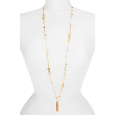 Gas Bijoux Filou Long Tassel Pendant Necklace