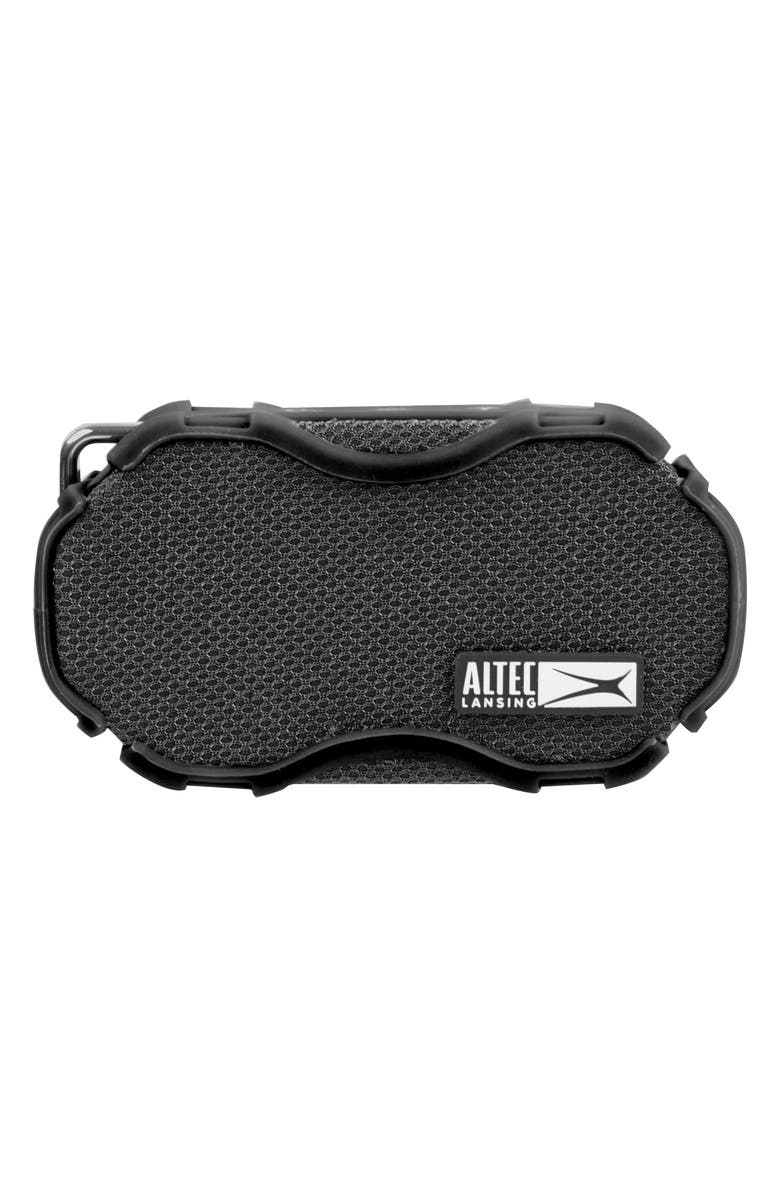 ALTEC LANSING Baby Boom Waterproof Wireless Speaker, Main, color, BLACK