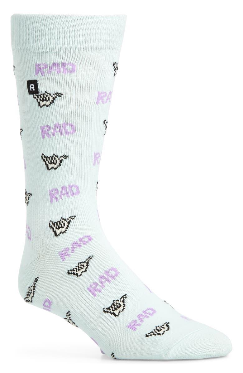 RICHER POORER Hang Loose Socks, Main, color, 440