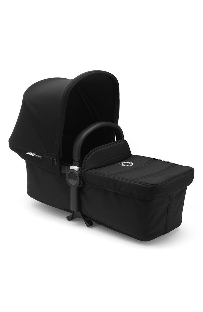BUGABOO Bassinet Tailored Fabric Set for Donkey2 Stroller, Main, color, BLACK