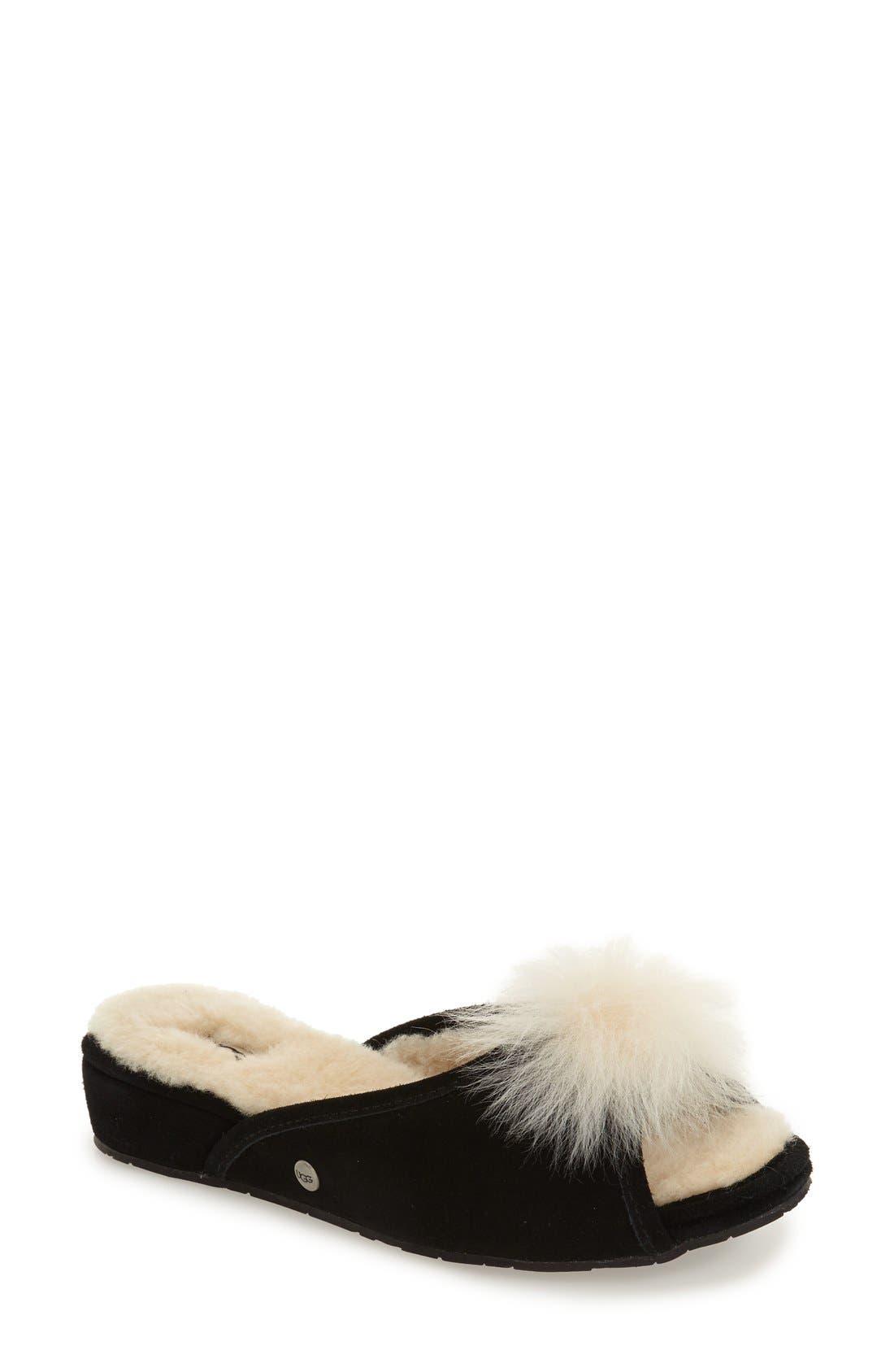 UGG® Yvett Open Toe Slipper with