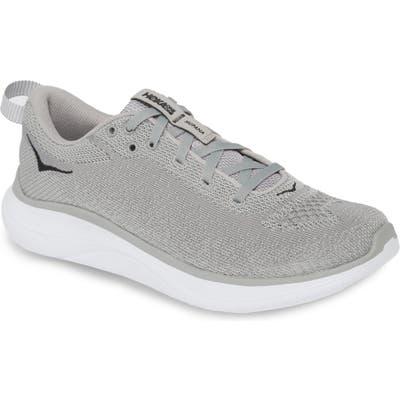 Hoka One One Hupana Flow Athletic Shoe- Grey