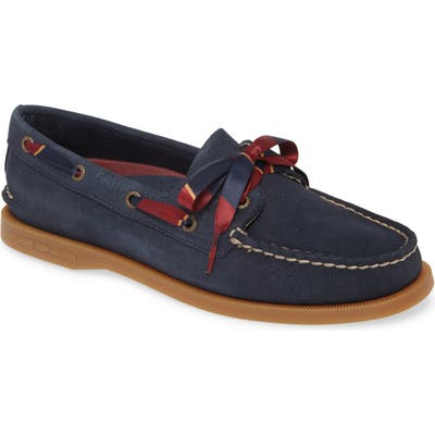 Sperry Authentic Original 2-Eyelet Boat Shoe, Blue