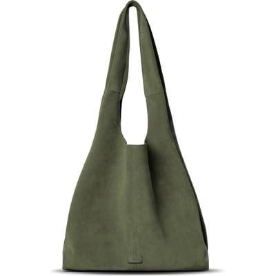 Shinola Market Leather Hobo Bag - Green