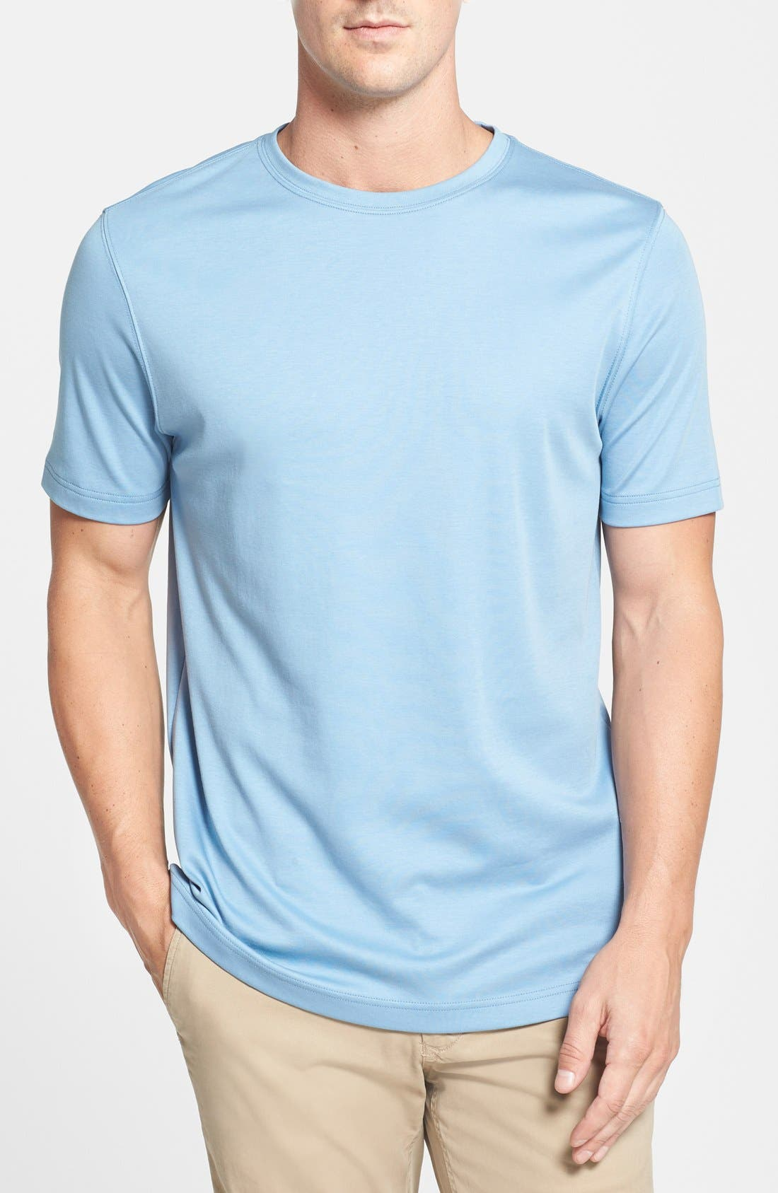 ,                             Georgia Crewneck T-Shirt,                             Main thumbnail 257, color,                             428