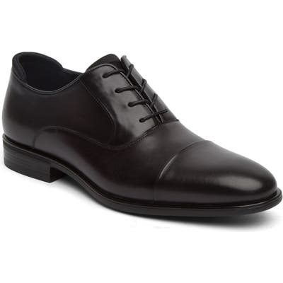 Reaction Kenneth Cole Edge Flex Cap Toe Oxford- Black