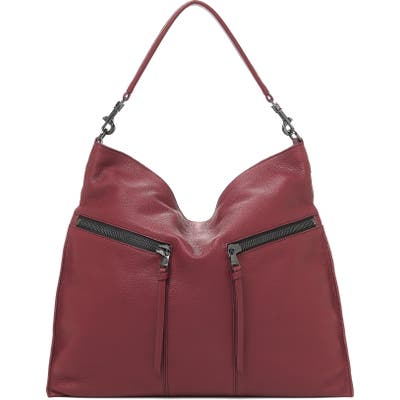 Botkier Trigger Pebbled Leather Hobo - Red