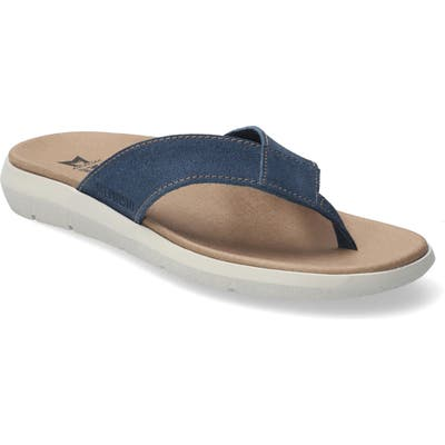 Mephisto Charly Flip Flop, Blue