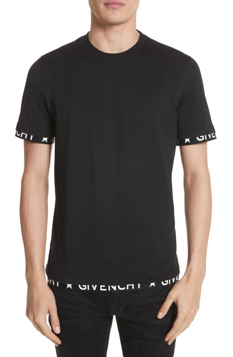 bdb391067d6c Givenchy Half Band Crewneck T-Shirt | Nordstrom