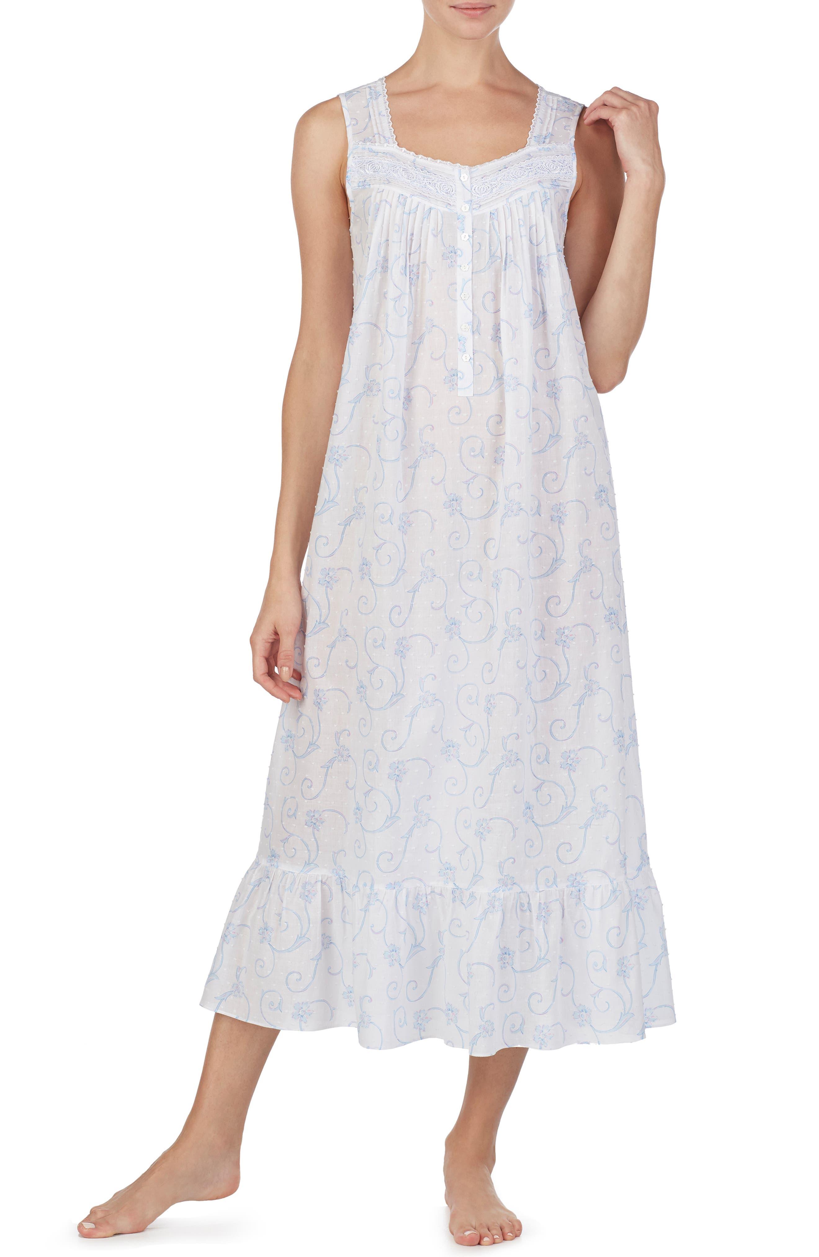 Eileen West Ballet Nightgown, White