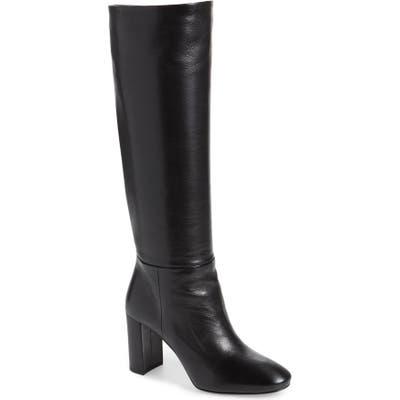 Prada Block Heel Tall Boot - Black (Nordstrom Exclusive)