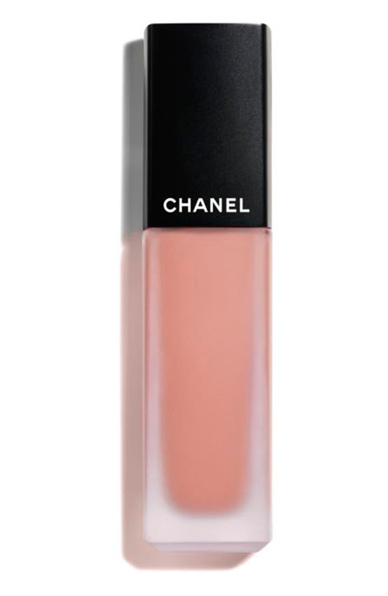 CHANEL ROUGE ALLURE INK FUSION <br />Ultrawear Intense Matte Liquid Lip Color, Main, color, 802 BEIGE NATUREL