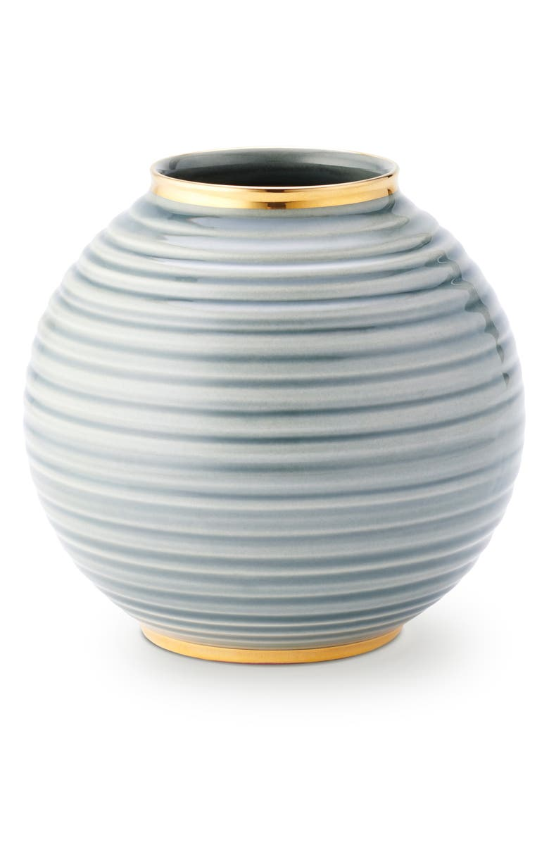 AERIN Calinda Round Vase, Main, color, SHADOW