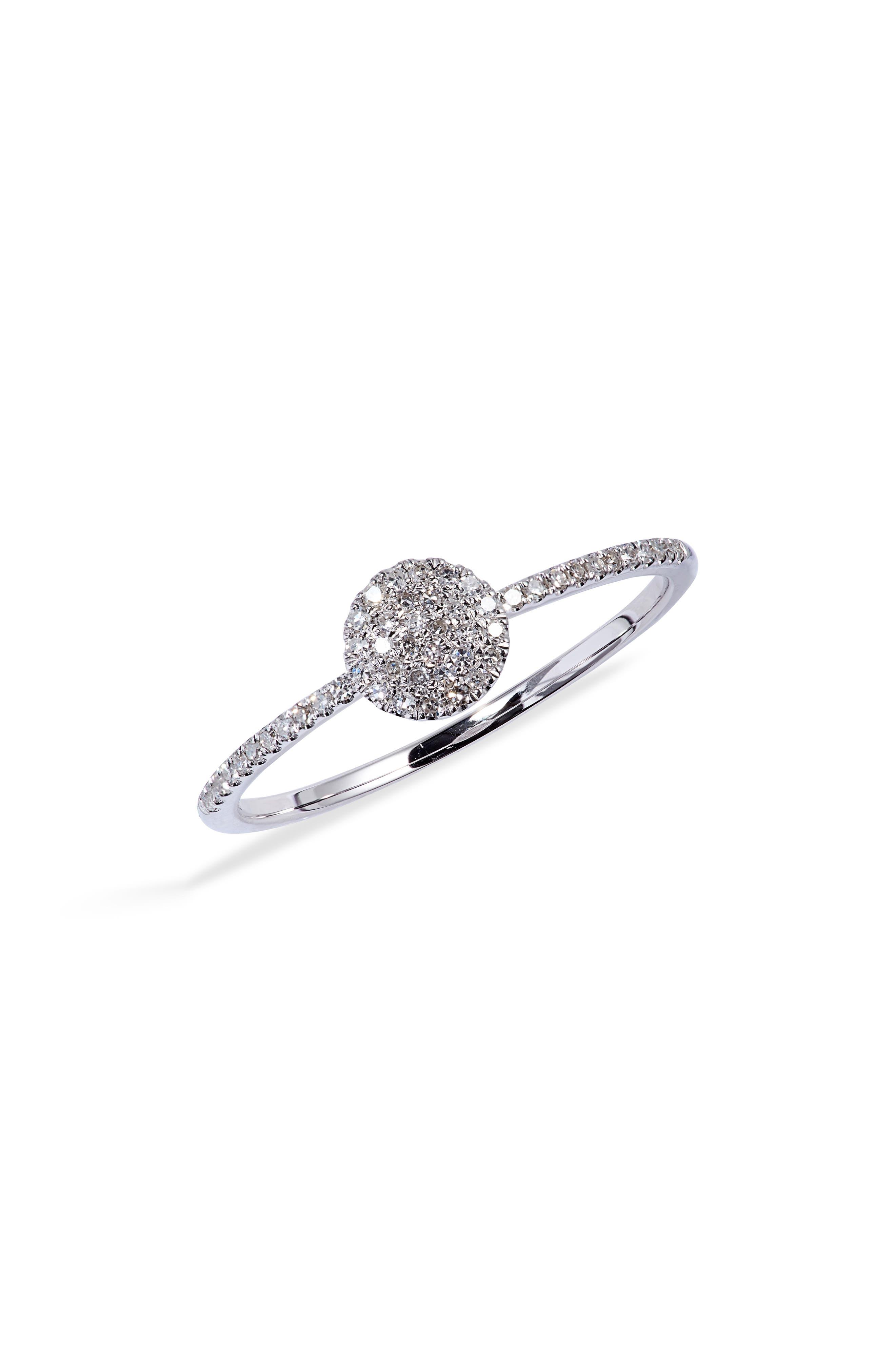 Women's Meira T Pave Diamond Circle Ring -  1R4689W