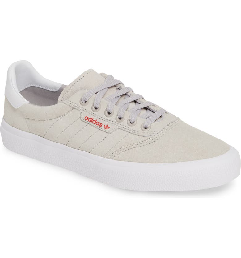 ADIDAS 3MC Skateboarding Sneaker, Main, color, GREY/ WHITE/ SCARLET