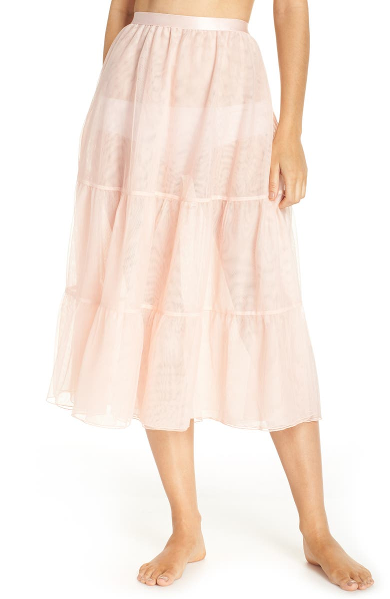 HALOGEN<SUP>®</SUP> x Atlantic-Pacific Tulle Half Slip, Main, color, 650