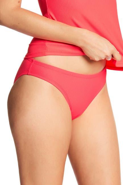 Image of Nike Ribbed Bikini Bottoms