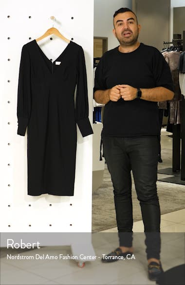Norah Plunge Body-Con Dress, sales video thumbnail