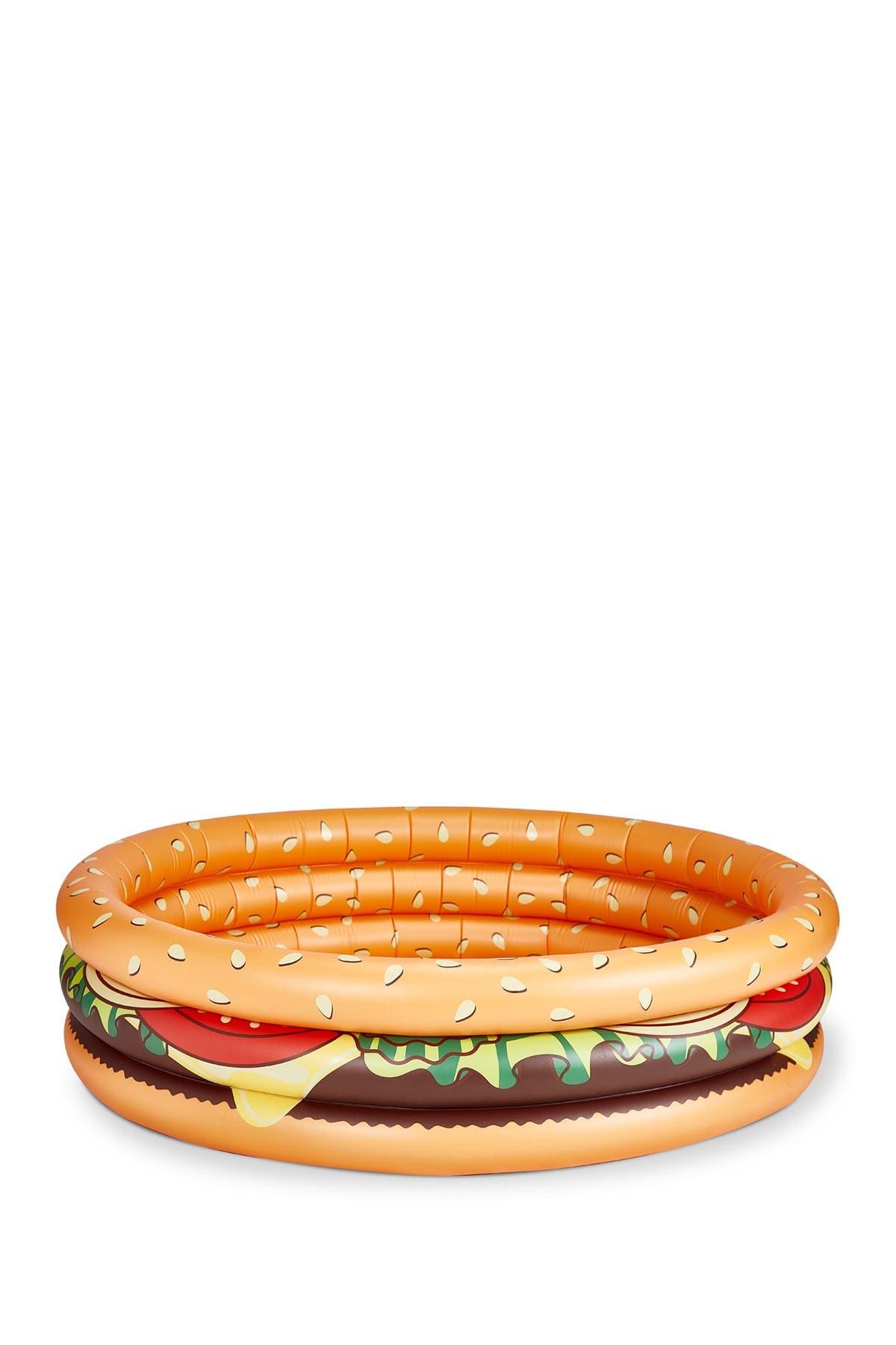Image of BIG MOUTH TOYS Hamburger Donut Kiddie Pool